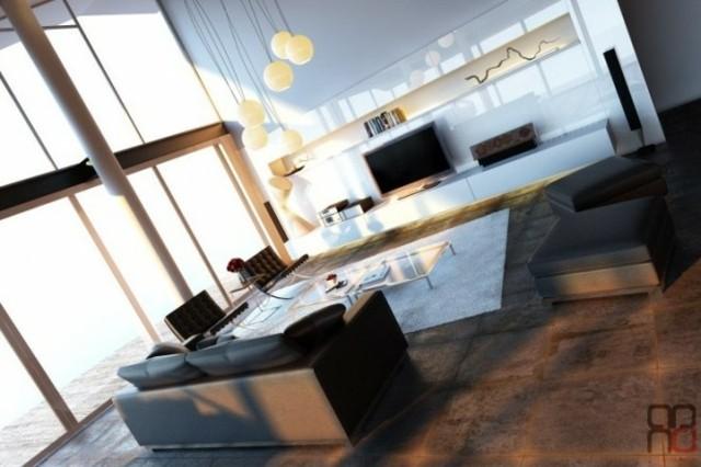Trois Exemples De Deco D Interieur D Un Salon Moderne Decoration