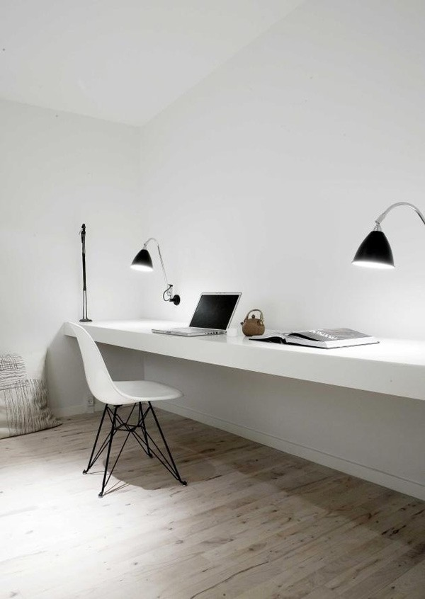 appartement minimaliste bureau norm architects