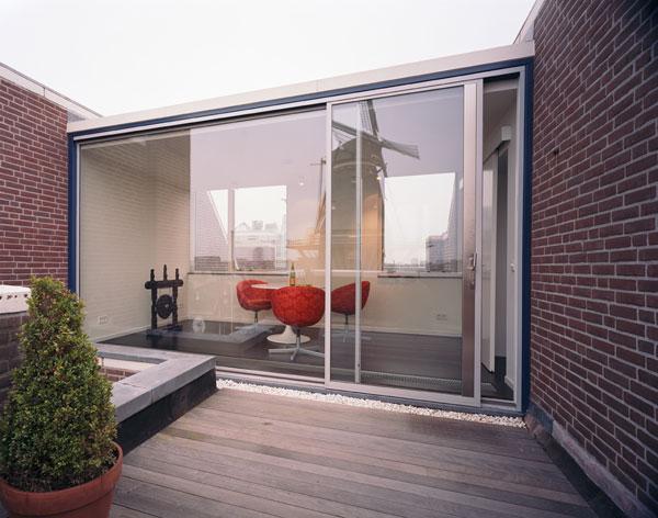 appartement minimaliste terrasse hofman dujardin