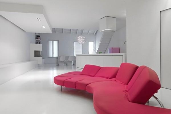 canape loft minimaliste contraste romolo stanco