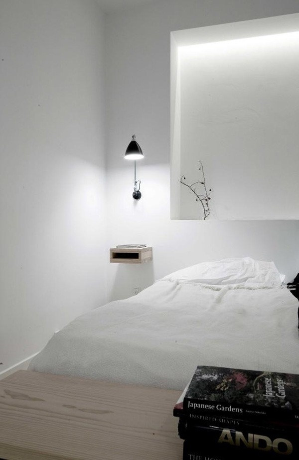 chambre minimaliste norm architects appartement