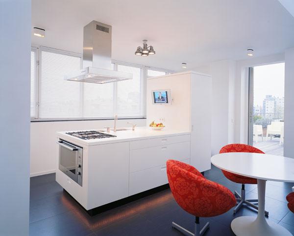 cuisine appartement minimaliste hofman dujardin