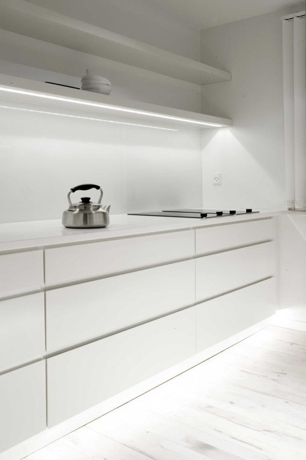 cuisine minimaliste design appartement