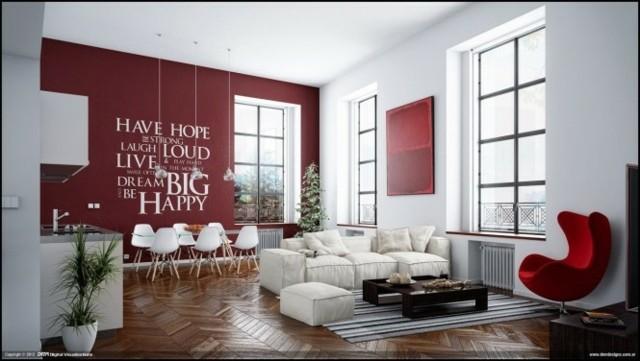 12 idées pour un salon confortable et contemporain - Decoration ...