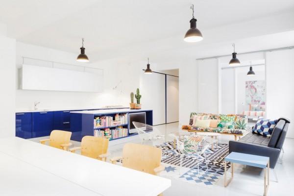 luminaires suspendus design déco de salon convivial