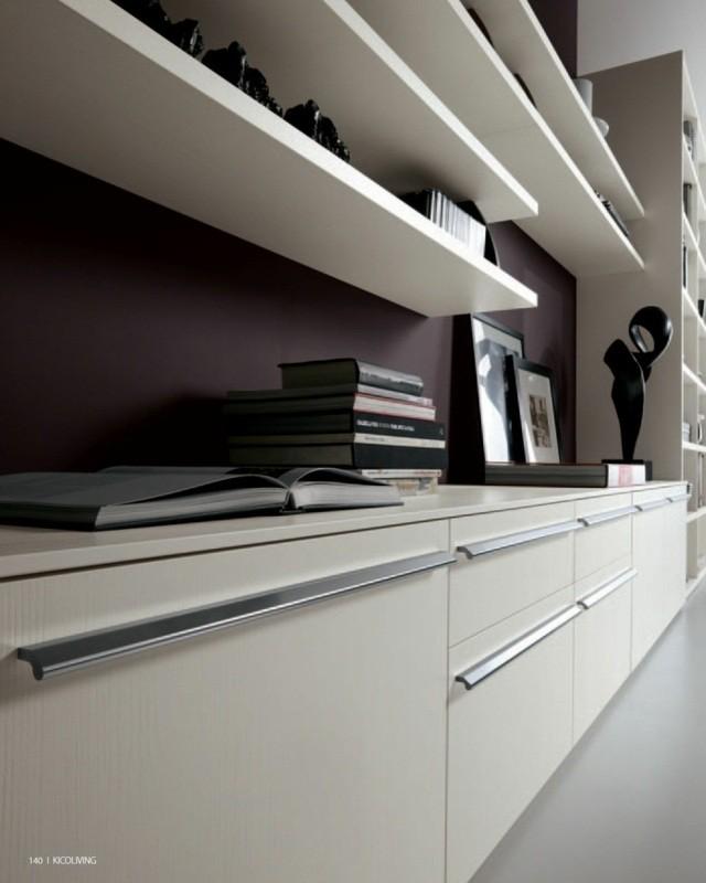 meubles de salon design bois