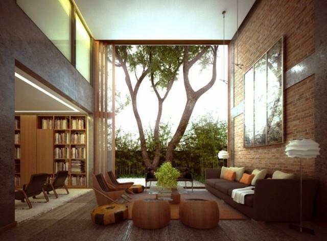 meubles salon bois