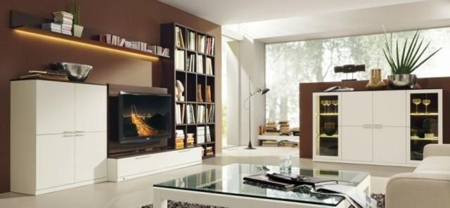 meubles simples modernes salon