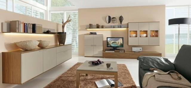 mobilier beige salon moderne musterring