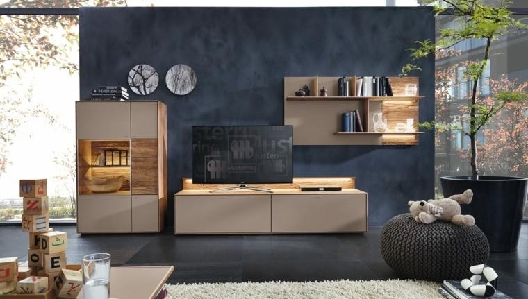 salon moderne amenagement interieur design