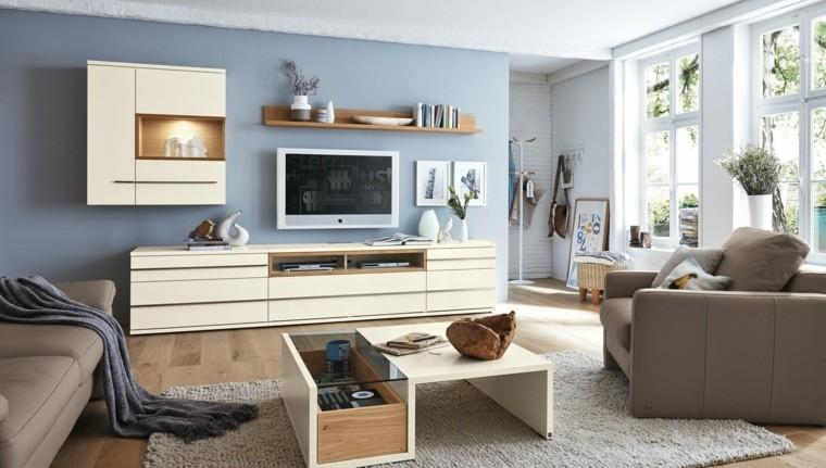 Salon moderne par Musterring en 25 idées d\'aménagement - Decoration ...