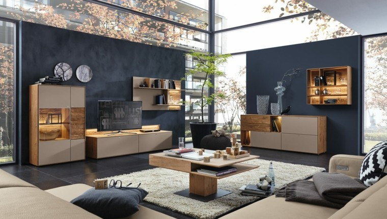 salon moderne par musterring en 25 id es d am nagement decoration salon. Black Bedroom Furniture Sets. Home Design Ideas