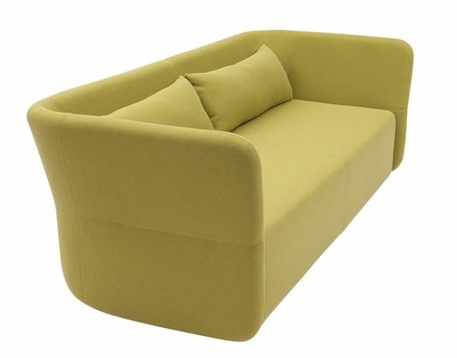 canapé moderne jaune Busk Hertzog