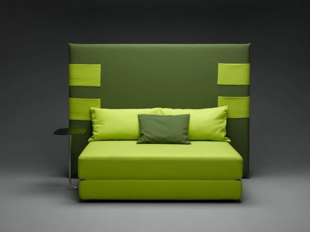 canapé en vert design My Skin