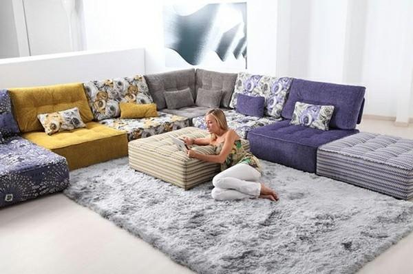 canapé bas meuble convertible salon