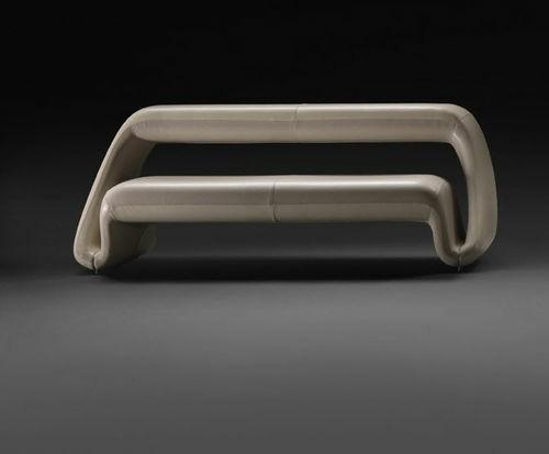 canapé de design blanc simple