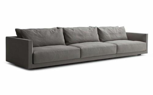canapé moderne jean marie massaud gris