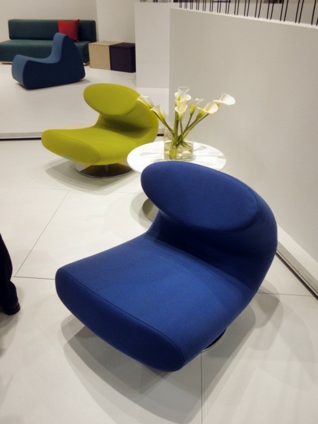 chaise de salon contemporaine