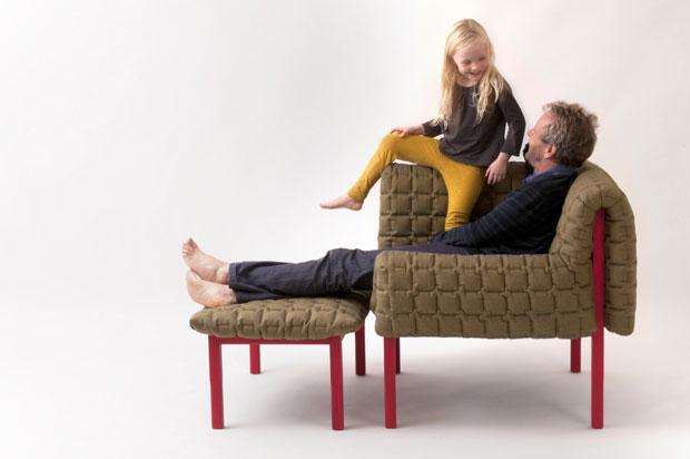 fauteuil confortable original