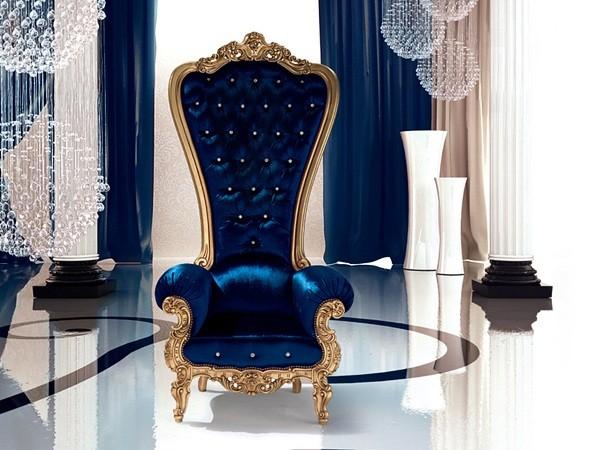 fauteuil de salon design luxe