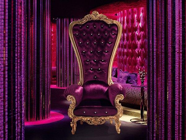 fauteuil de salon luxe cadre taillé