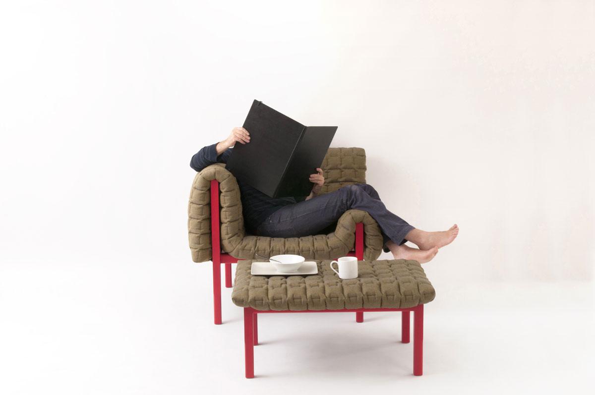 fauteuil moderne confortable