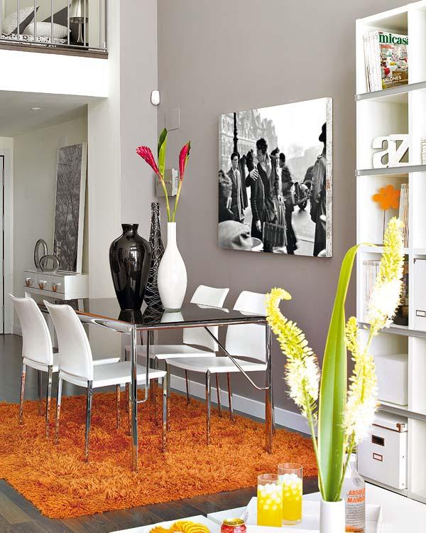 loft design décoration salle manger