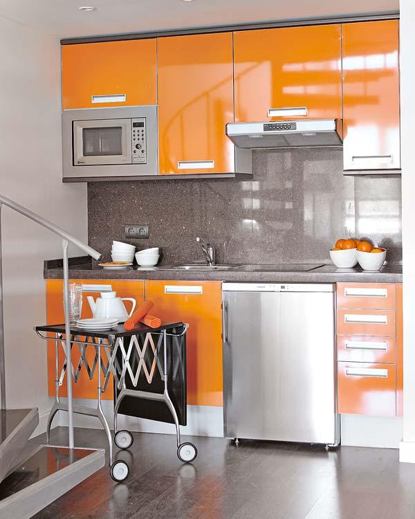 loft moderne cuisine
