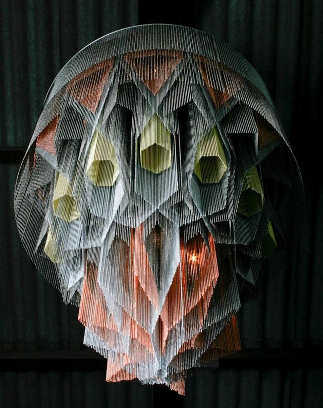 lustre contemporain design Mandala