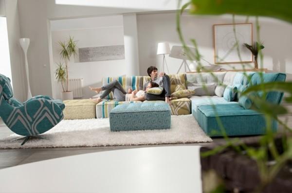 meuble convertible salon contemporain