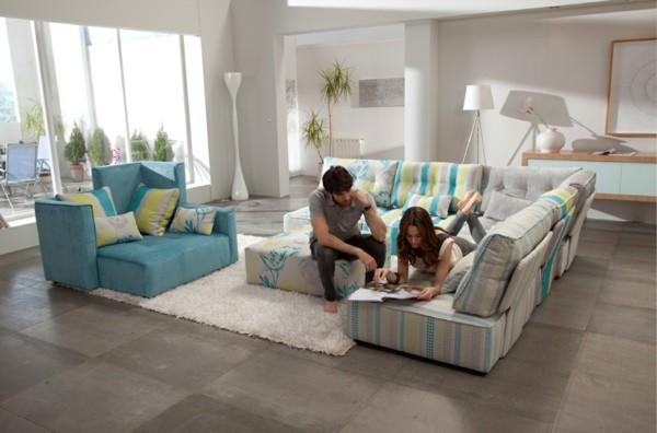 meuble modulable salle de séjour moderne