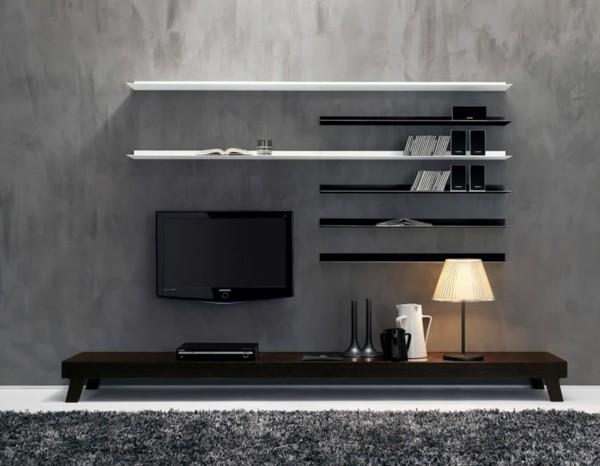meuble mural salon design