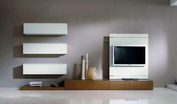 meuble tété design blanc minimaliste