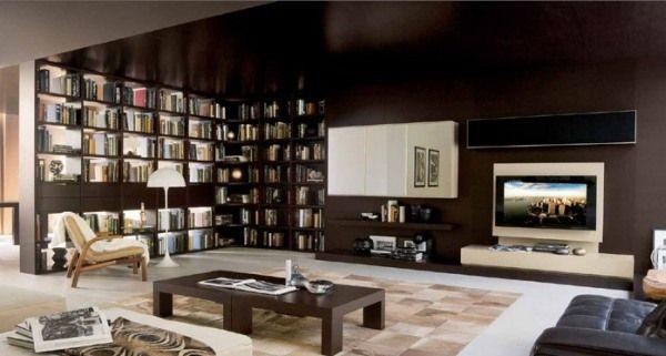 meuble télé design salon étagers