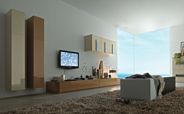 mobilier salon moderne bois