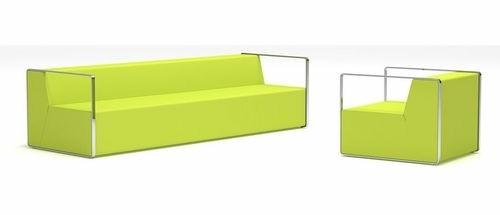 modèle canapé vert herbe fauteuil