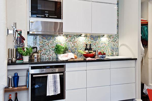 petit appartement suedois cuisine