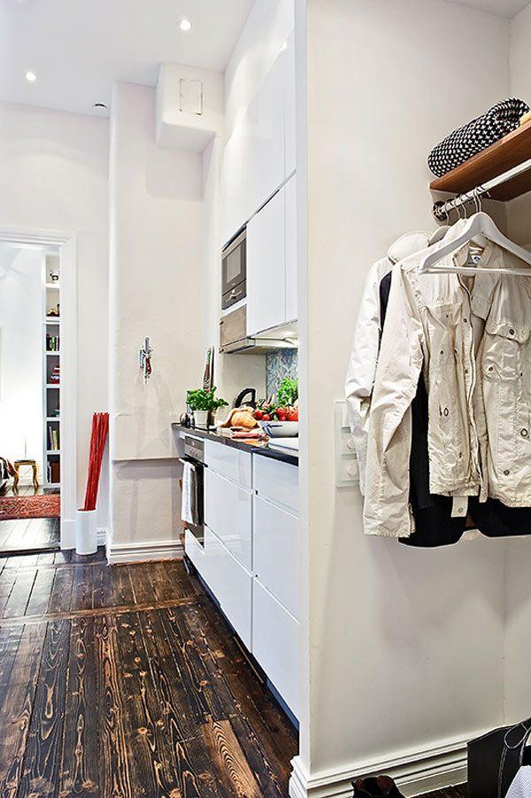 petit appartement suedois intérieur