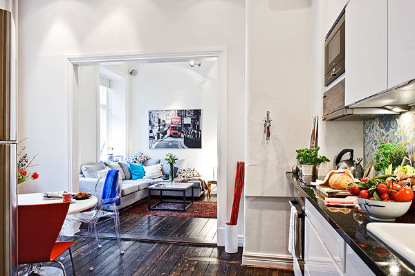 petit appartement suedois open space