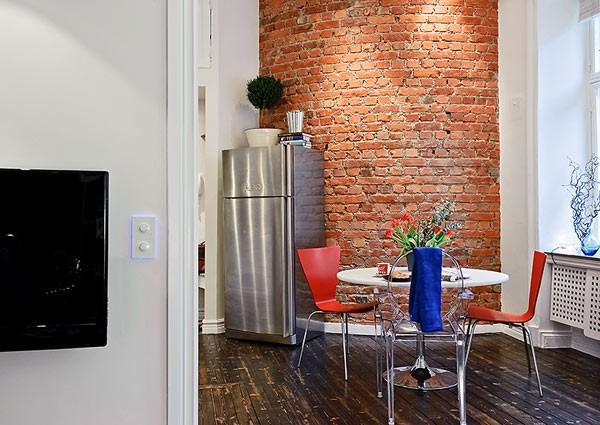 petit appartement suedois salle manger