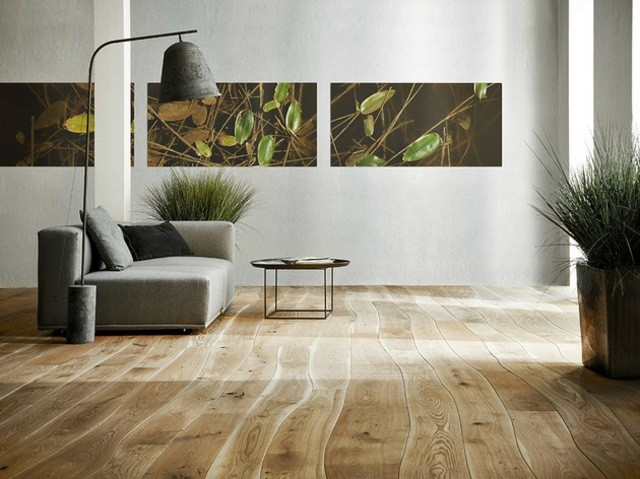 plancher en bois massif naturellement courb par bolefloor. Black Bedroom Furniture Sets. Home Design Ideas