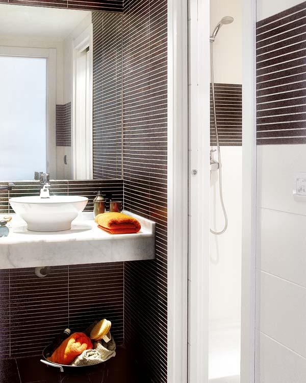 salle de bain design loft