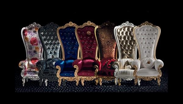 série fauteuil de salon luxe design