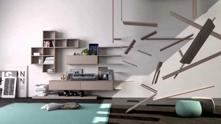 Salon De Design Extraordinaire Armoire De Rangement Idée Salon