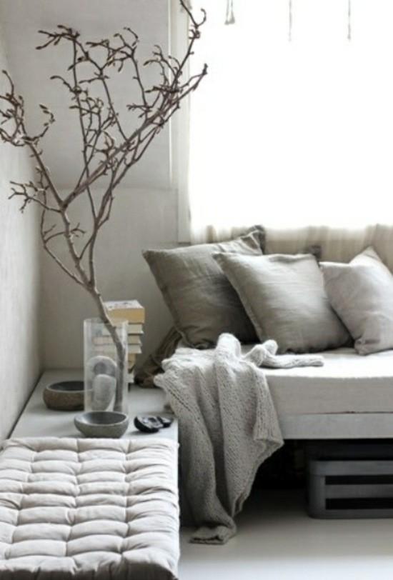 décoration séjour couleurs neutres salon