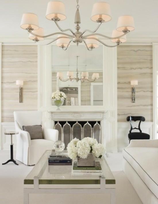 décoration salon couleurs claires