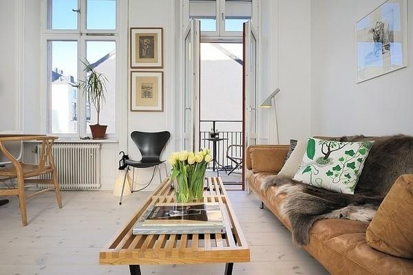 décoration salon style scandinave