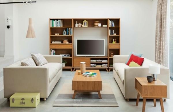 deco salle sejour meuble scandinave