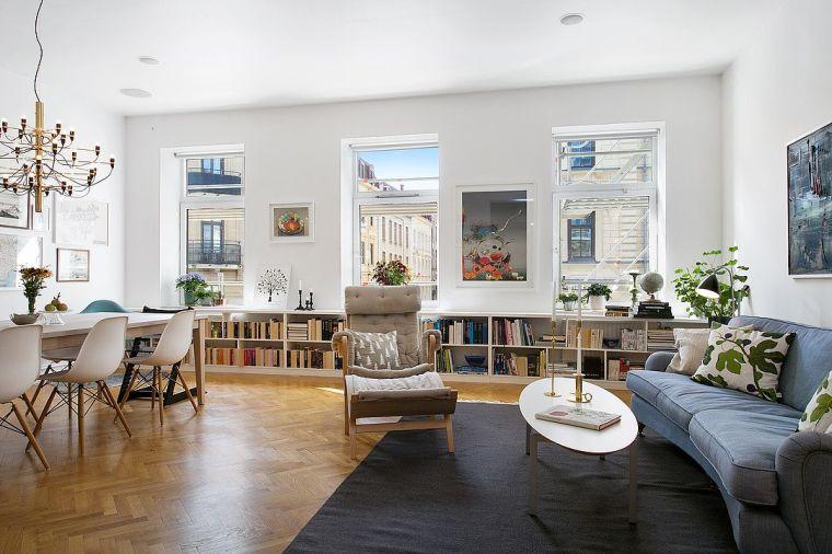 design scandinave deco-nordique-salon-salle-a-manger
