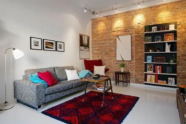 design scandinave salon déco moderne